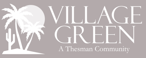 Village Green A Thesman Community Logo