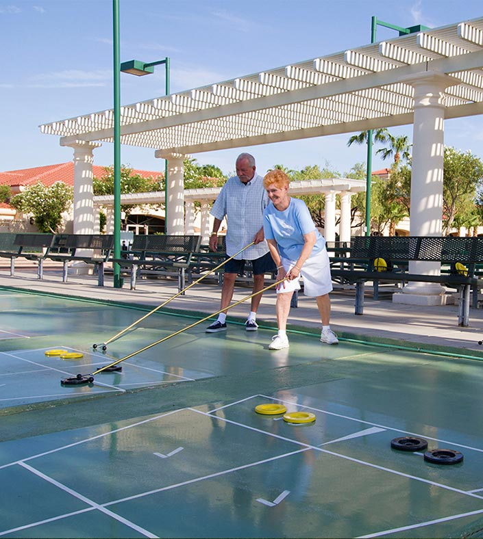 Sunrise Village Shuffleboard